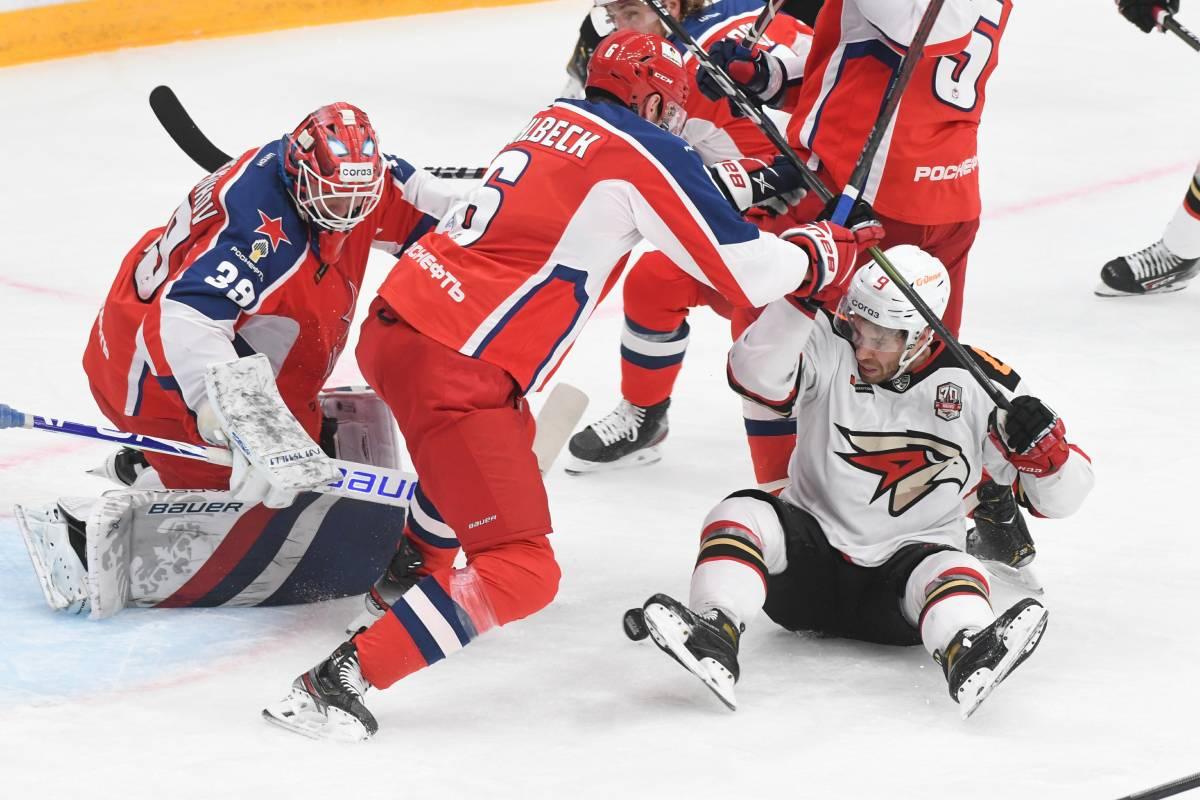 ЦСКА – Авангард: прогноз и ставка на матч КХЛ