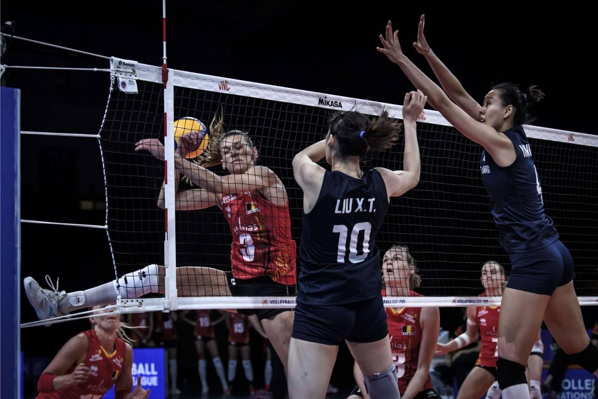Бельгия - Япония: прогноз на матч женской волейбольной Лиги наций