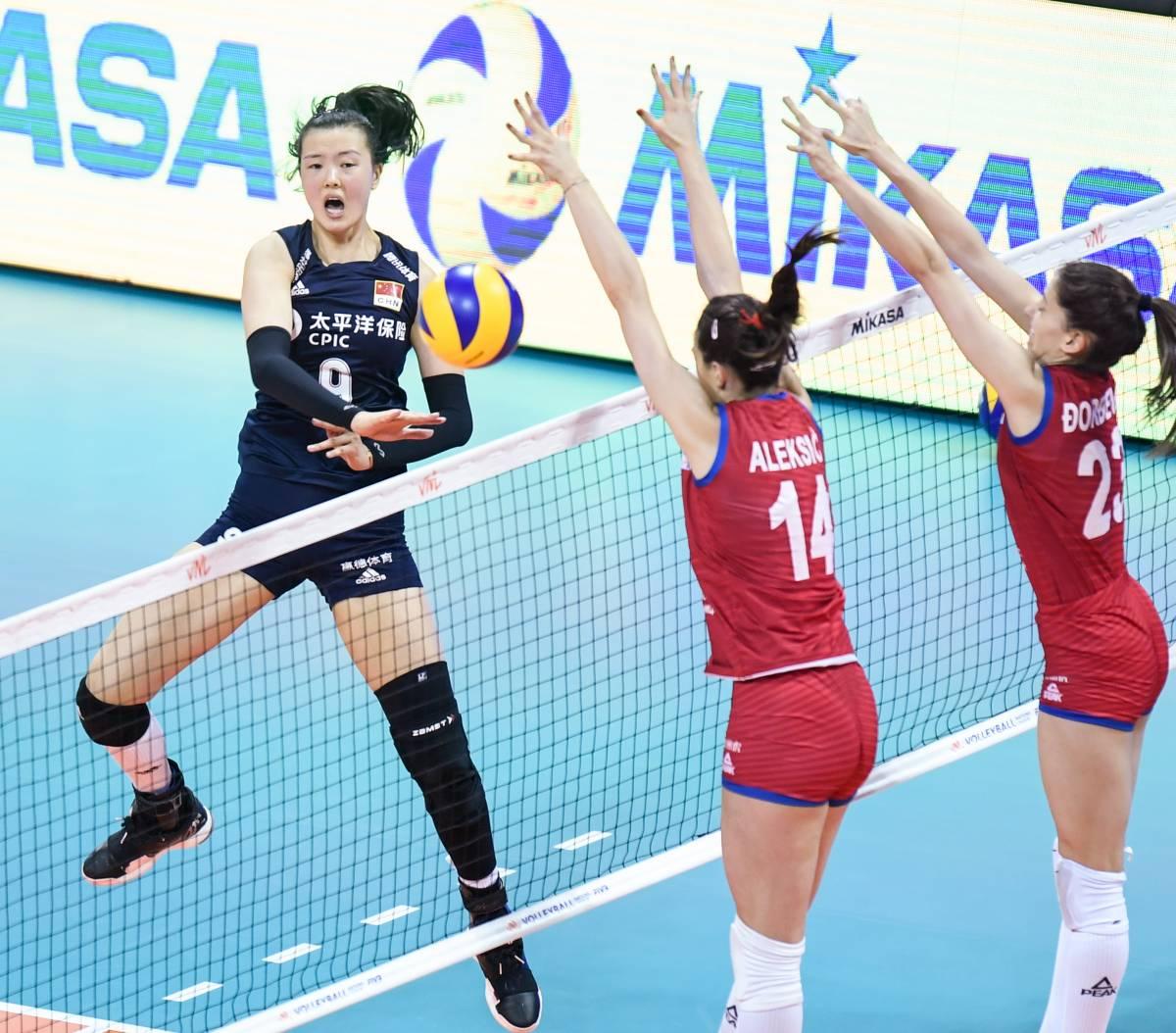 Россия - Сербия: прогноз на матч женской волейбольной Лиги наций