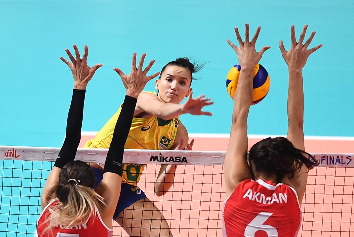 Brazil vs Thailand: forecast for the Women's Volleyball League of Nations match