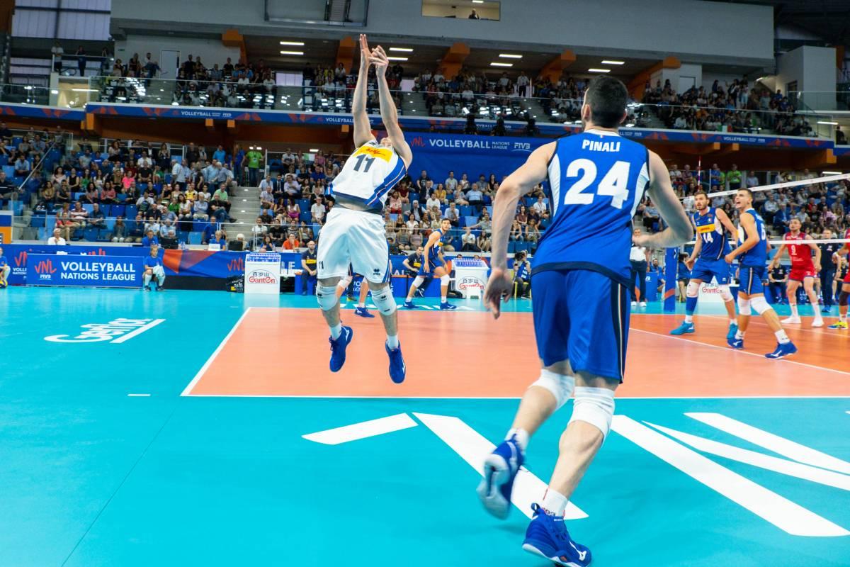 Иран - Бразилия: прогноз на матч мужской волейбольной Лиги наций