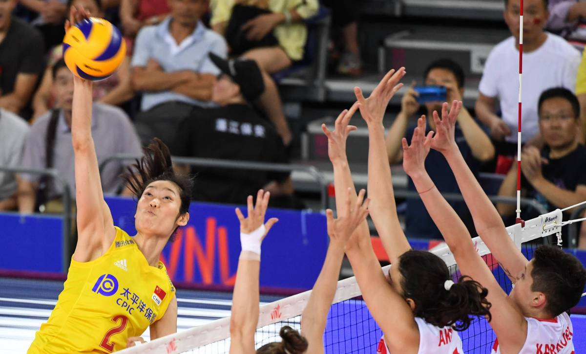 China - USA: forecast for the match of the women's volleyball League of Nations