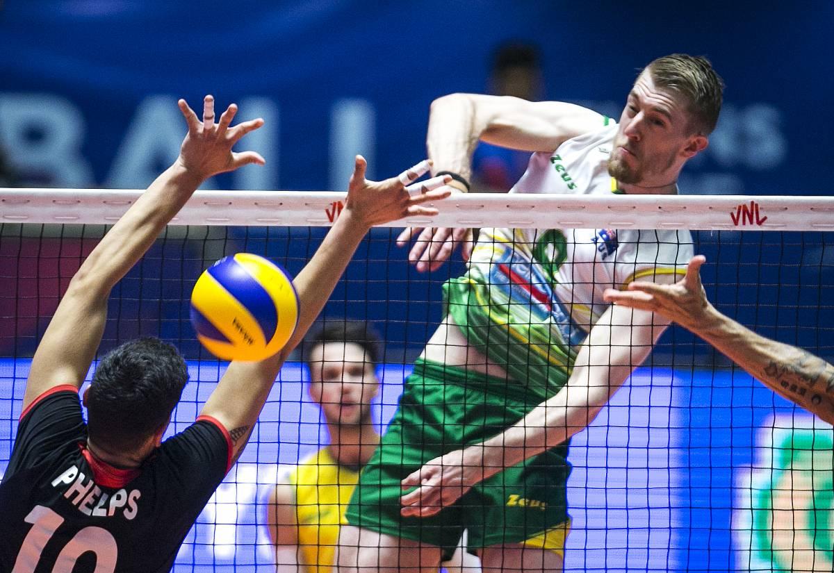 Канада - Австралия: прогноз на матч мужской волейбольной Лиги наций