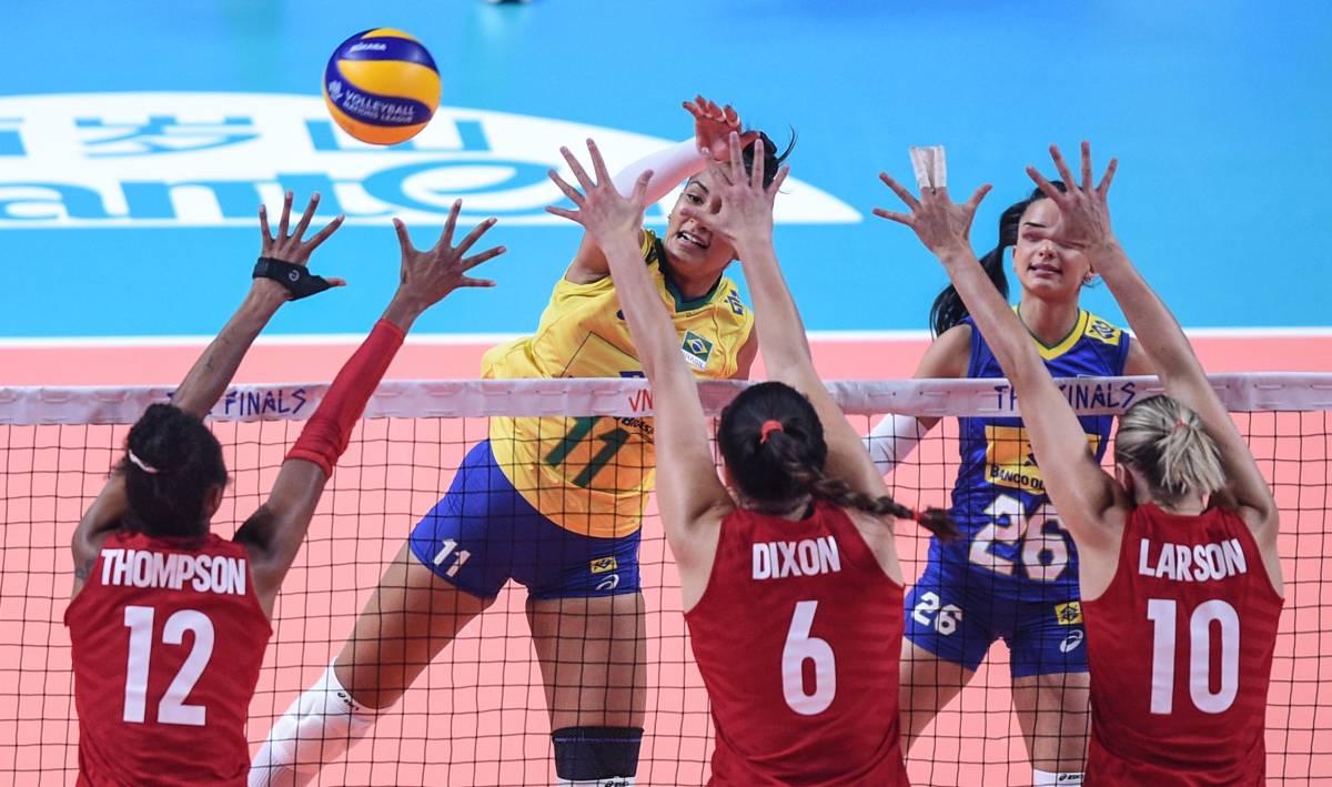 Сербия – Бразилия: прогноз на женский волейбольный матч ОИ-2020
