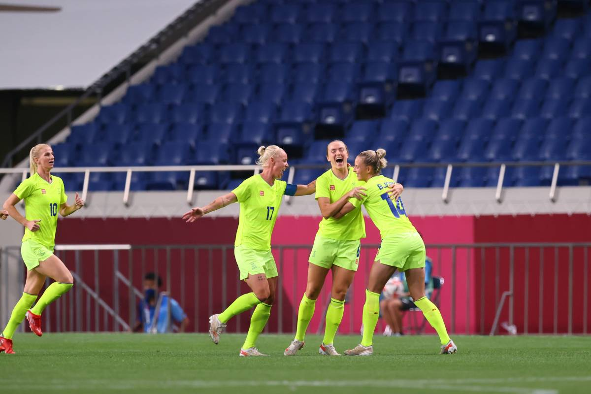 Sweden (w) – Canada (w): forecast for the final women's football match of the OI-2020