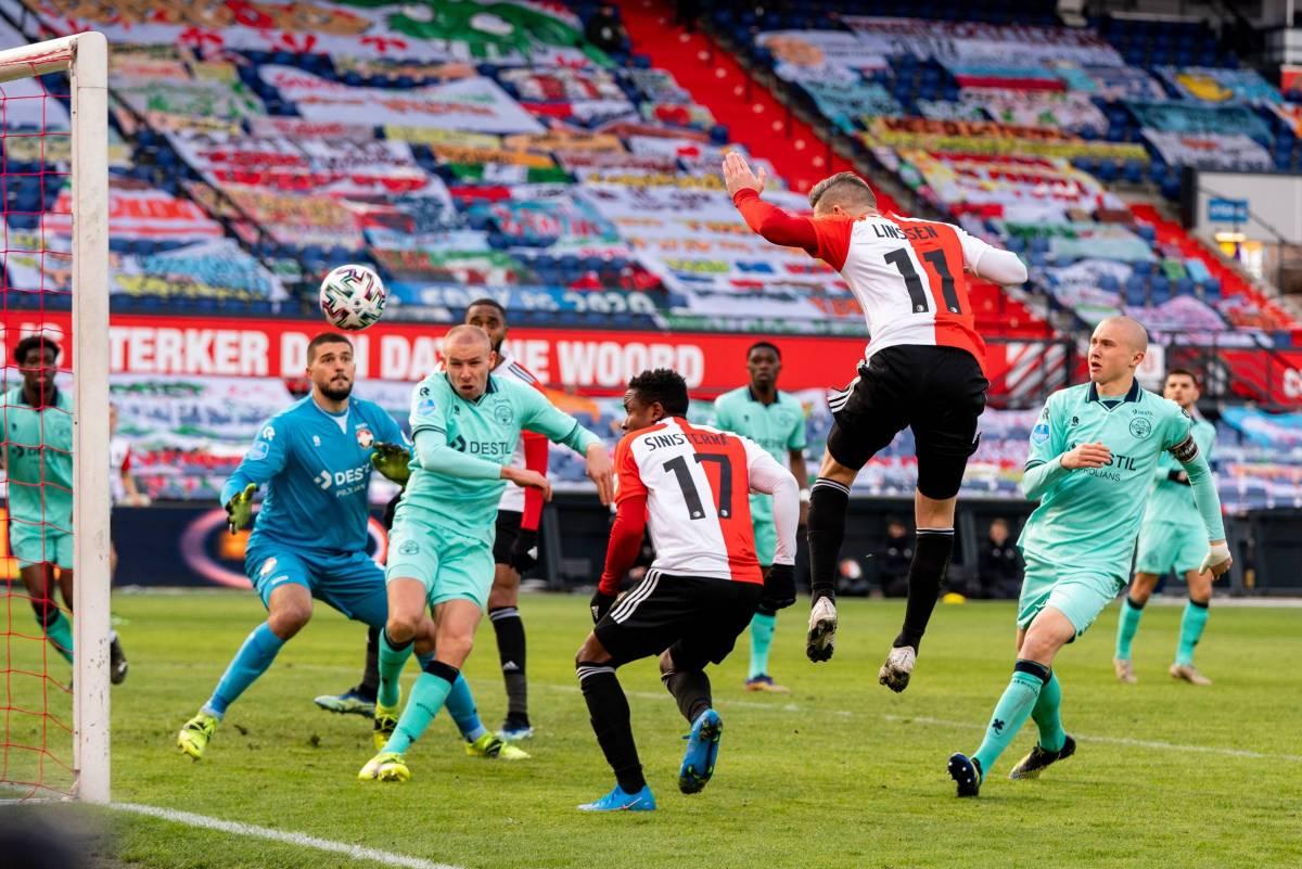 Фейеноорд - Херенвен: прогноз и ставка на матч чемпионата Голландии