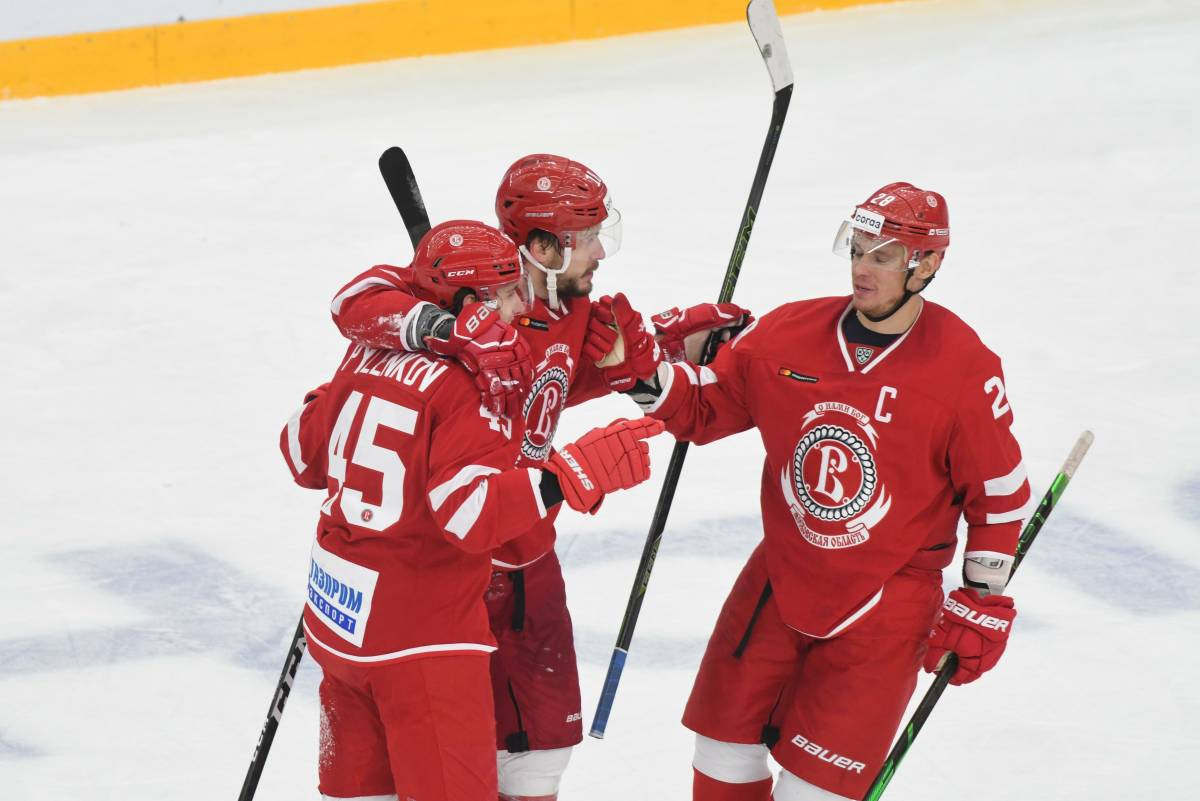 Vityaz - SKA: forecast and bet on the KHL match