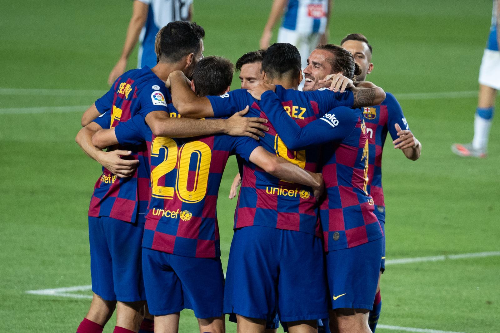 Вальядолид — Барселона 11.07.2020