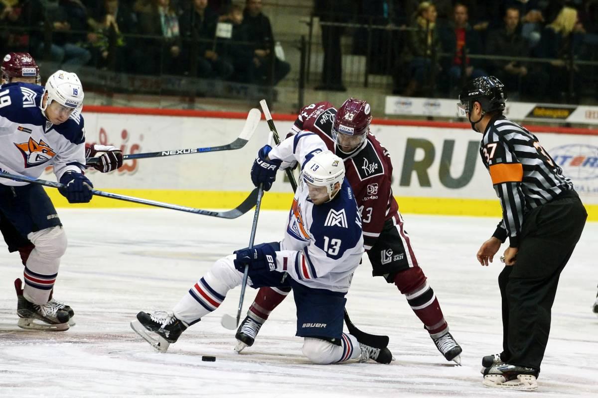 Металлург – Динамо Рига: прогноз и ставка на матч КХЛ