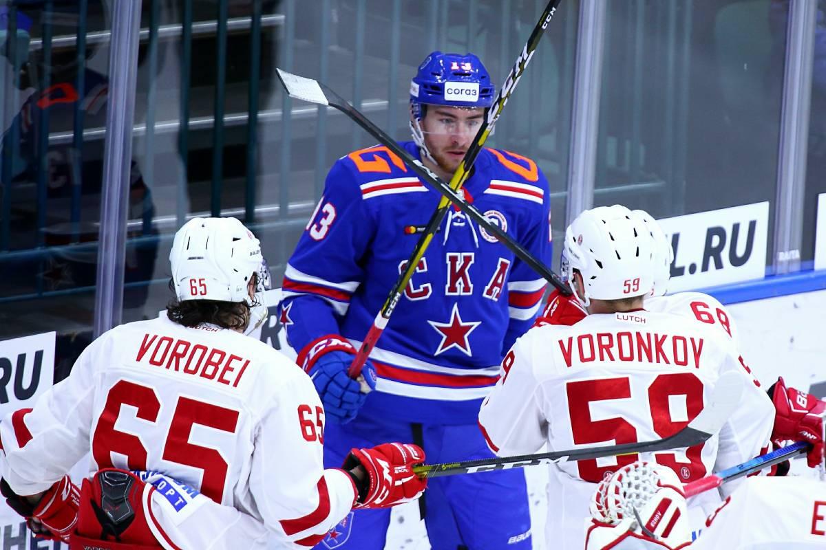Витязь – СКА: прогноз и ставка на матч КХЛ