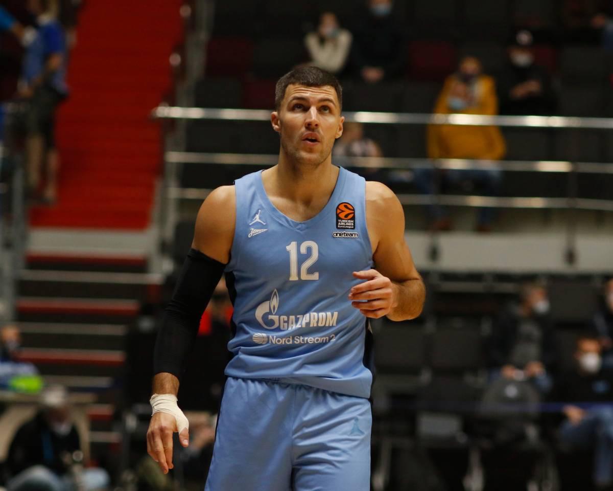 «Олимпия Милан» - «Зенит»: прогноз на матч баскетбольной Евролиги