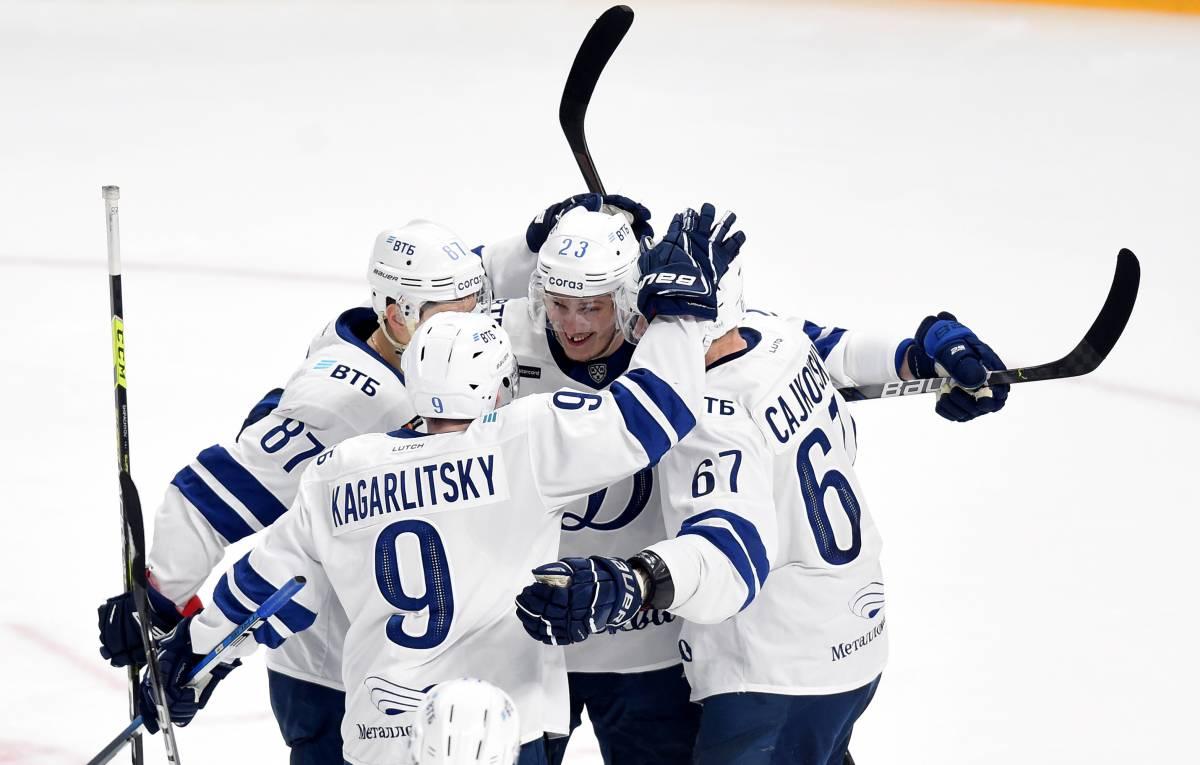 Динамо Москва – Северсталь: прогноз и ставка на матч КХЛ