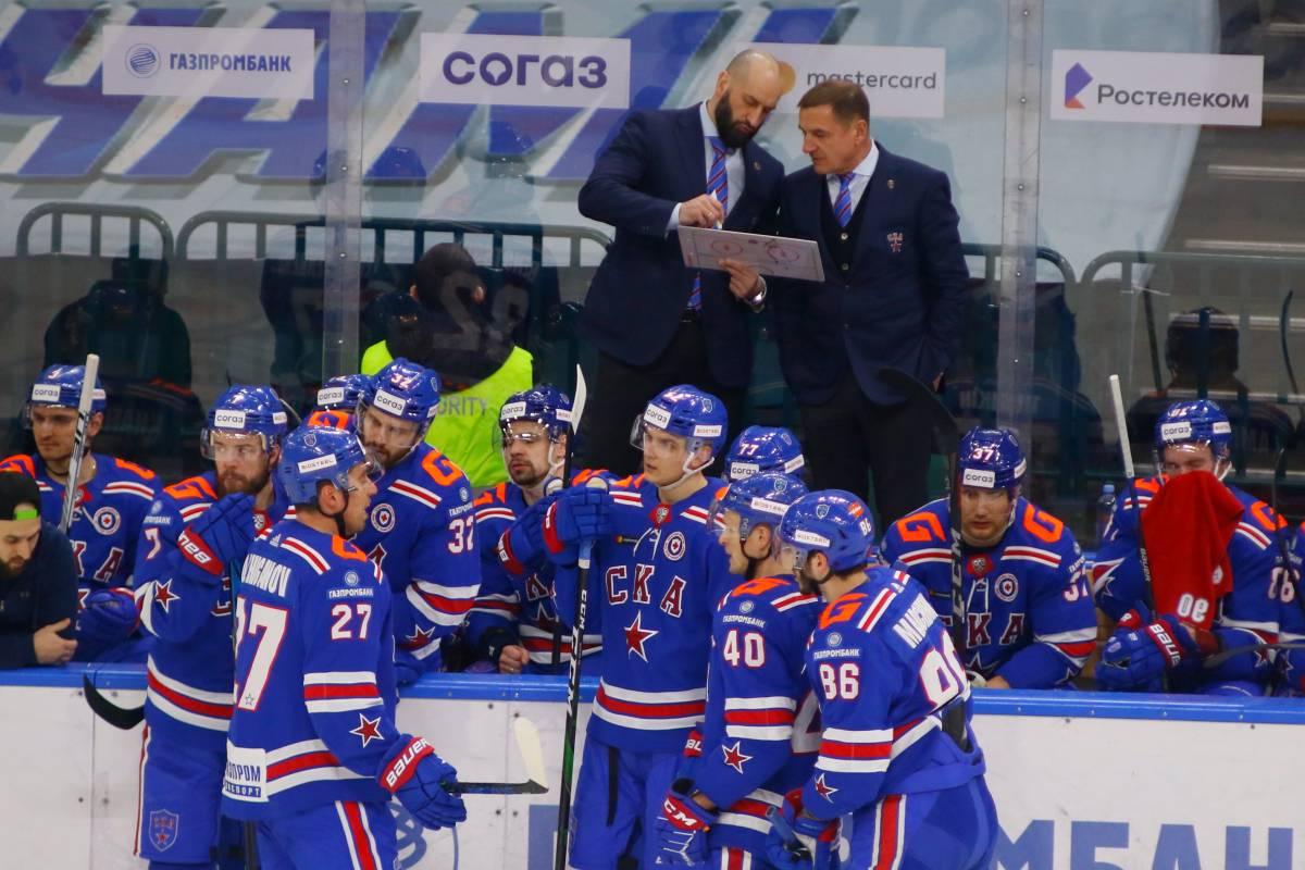 СКА – Динамо Минск: прогноз и ставка на матч КХЛ